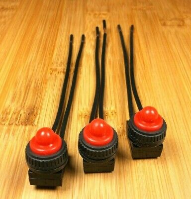 BBT Marine Grade Red LED Battery Level Indicator