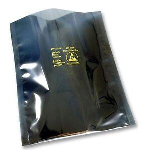 15Pcs 8 x12cm Plastic Zip Lock Shielding Anti Static Bags Holders Packagings New