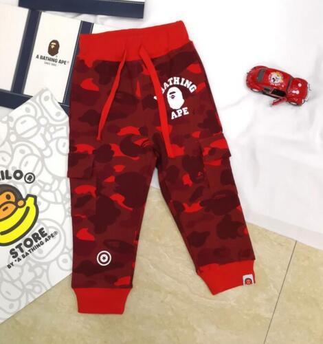 A Bathing Ape Bape CAMO Baby Milo Enfants Garçon Fille Long Legging Pantalon Vêtements