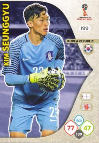 Panini Adrenalyn XL FIFA World Cup 2018 Rusia-Elige tu tarjetas de equipo de Corea
