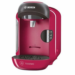 Tassimo Coffee Maker Not Hot Enough : Bosch Tassimo TAS1251GB Vivy Multi Beverage Hot Drinks Coffee Machine Sweet Pink eBay