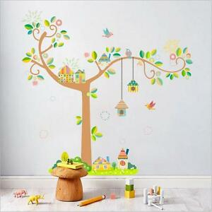 Learned Owl Scroll Tree Hoot Iii Wall Decal Art Nursery Stickers Removable Baby Decor Fast Color Decals, Stickers & Vinyl Art
