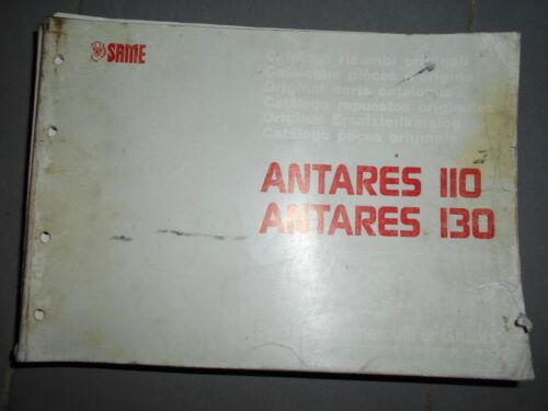 catalogue de pièces Same ANTARES 110 130 1990