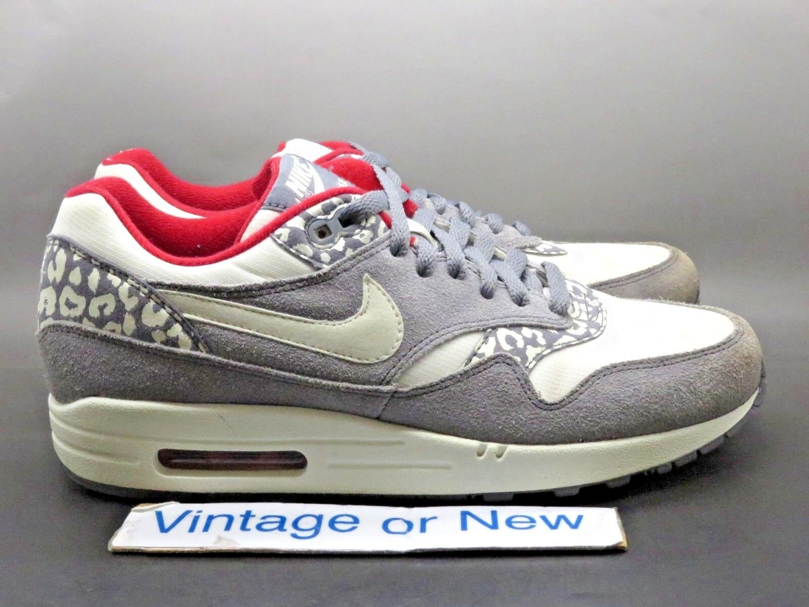 Women's Nike Air Max 1 Leopard Pack 2012 Running shoes 319986-099 sz 10