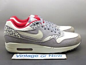 huge discount a3637 74d41 Image is loading Women-039-s-Nike-Air-Max-1-Leopard-
