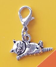 🐱 CAT CHARM for CHARM BRACELET 🐱 PURSE ZIPPER PULL  🐱 KITTY DANGLE CHARM 🐱