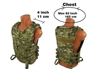 Tactical-Modular-Vest-army-paintball-airsoft-chest-rig-molle-pals-multicam