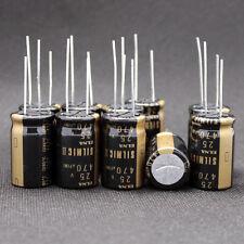 10PCS Japan ELNA 470UF/25V  SILMIC II Series High-END HIFI Audio Capacitor CAP
