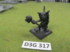 Warhammer Fantasy AoS Destruction primed oop metal Orcs & Goblins Stone Troll b