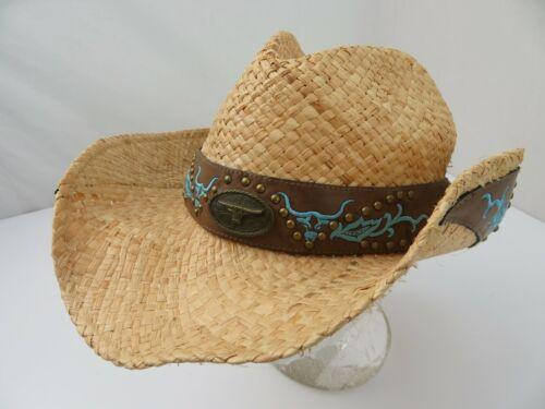 Jacobson Straw Cowboy Adult Cap Hat - image 1