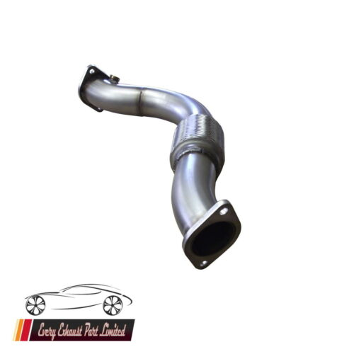 Focus RS Mk 1 Flexi Pipe Exhaust 100/% T304 Stainless Interpipe 70mm Bore