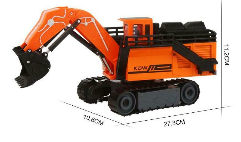 1//87 SIKU 1798 liebherr r9800 mining bagger KDW excavator SHOVEL CRANE DIECAST