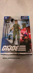 "2021 GI Joe Classified Series G.I.Joe Cobra Lady Jaye 25 MISB 6"" Wave 03"