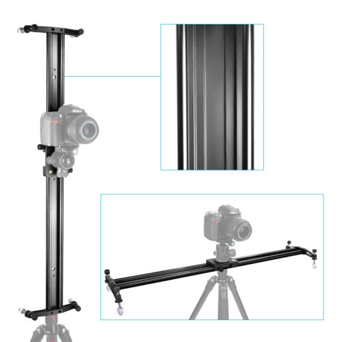 Neewer 40 DSLR Camera Track Dolly Slider Video Stabilization Rail System