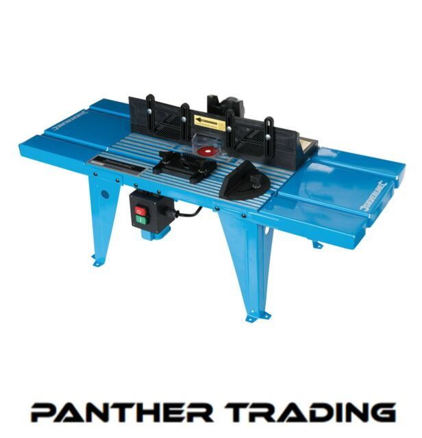 Silverline 460793 diy router table 850 x 335mm uk 230v ebay silverline diy router table with protractor uk bench mounted table 460793 keyboard keysfo Image collections