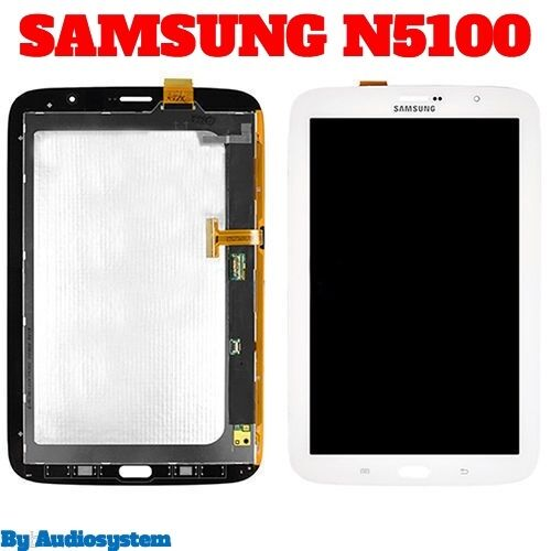 """DISPLAY LCD +VETRO+ TOUCH SCREEN per SAMSUNG GALAXY NOTE 8.0 GT N5100 8"""" 3G+WIFI"""