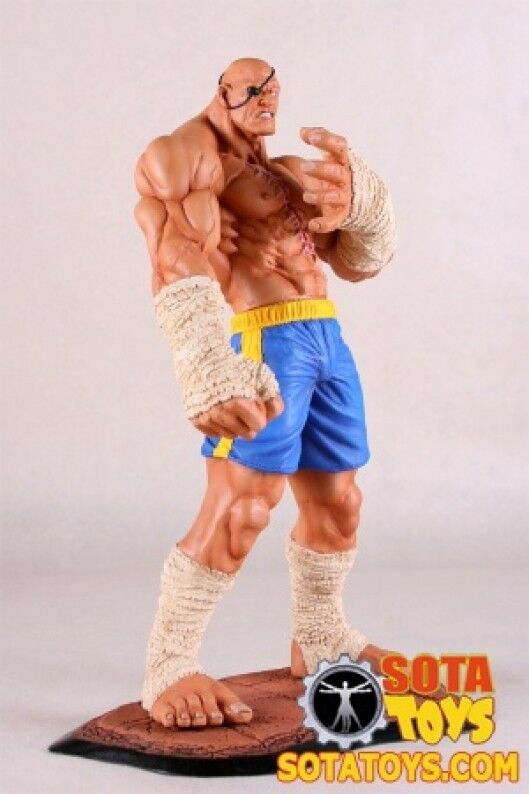 Street Fighter Sagat statue 12  resin statue State of the Art (SOTA) 01126