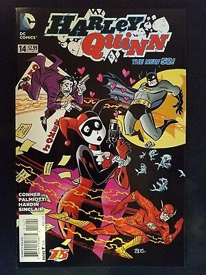 HARLEY QUINN #8 batman 75th anniversary variant 1st print DC NEW 52 DAVE JOHNSON