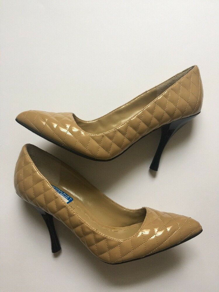 Enzo Angiolini Nude Kraz Quilted Nude Angiolini Pumps size 7.5 7b0f89