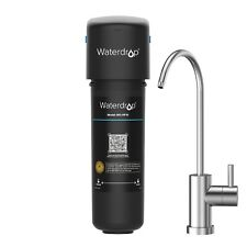 Waterdrop 10UB Under Sink Water Filter System with Dedicated Faucet, 8K Gal