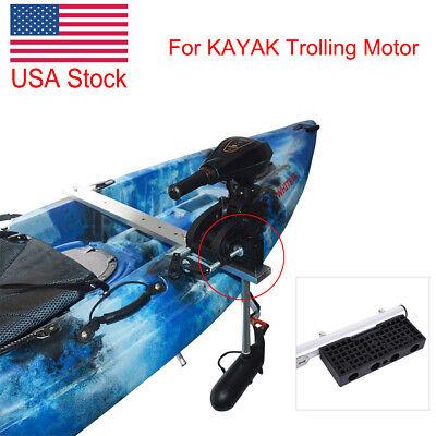 Reinforced Nylon Kayak Trolling Electric Motor Mounting Motor Mount Block  Board   eBay