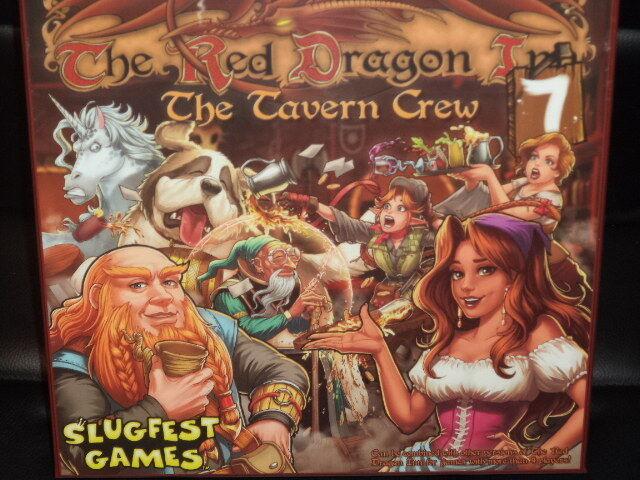 The rojo Dragon Inn 7 The Tavern Crew - Slugfest Games Board Game New