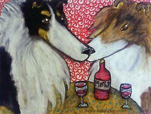 ROUGH-COLLIE-at-the-Bistro-Drinking-Merlot-Wine-Dog-Pop-Art-Print-8-x-10-KSAMS