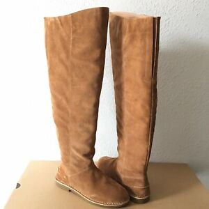 7a31cf2c251 Details about UGG Loma Over the knee Chestnut Suede Unlined Tall Boots Size  US 9 Women's