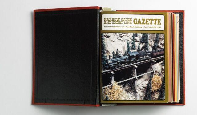 1979-80 2 Years Narrow Gauge And Shortline Gazette In