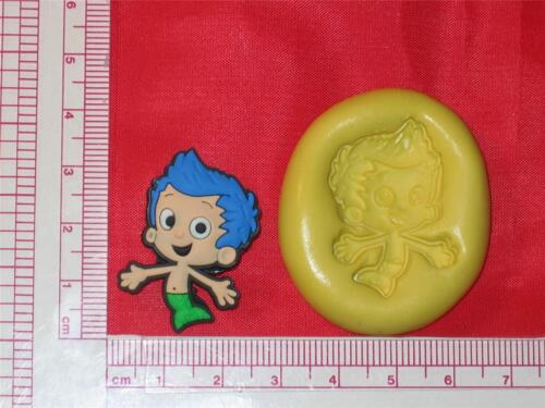 Silicone Mold Gil Bubble Guppies A749 Cake Pop Chocolate Resin Candy