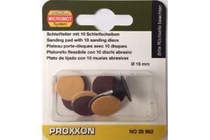 Proxxon-28982-Disques-Abrasifs-Sanding-Discs-With-Arbor-18mm-10pcs