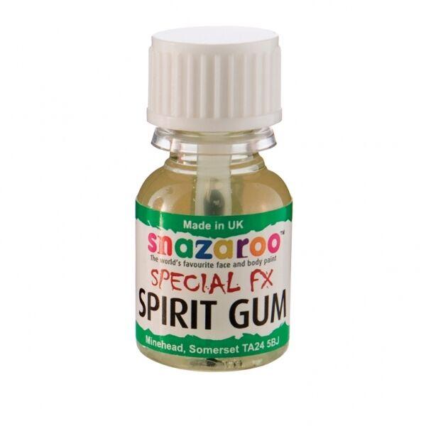 Snazaroo Special FX Spirit Gum Glue Adhesive (10ml) Sticks Things To Face/Body