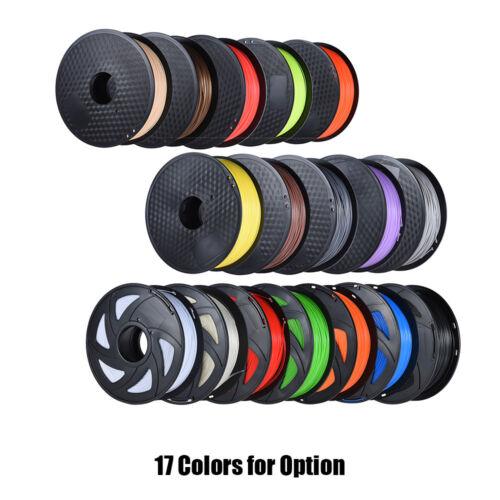 3D Printer Filament 1.75mm PLA 1kg//2.2lb Roll For RepRap MakerBot Print Pen W0E0
