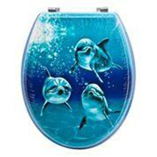 Nouveauté aquatiques Swan siège de toilette salle de de de bain Easy Clean Toilette Rim | Distinctif  5aedb3