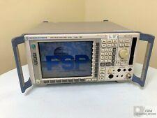 Fsp7 Rohde Amp Schwarz Spectrum Analyzer 9khz 7ghz Options Fsp B3 Fsp B4 Clean