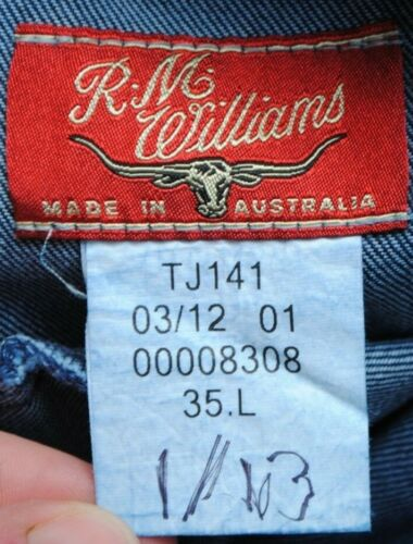 Taille Taille 100 Williams Rm 35 Basse Coton Longue Coupe Indigo Jeans Ramco Ttxq1f