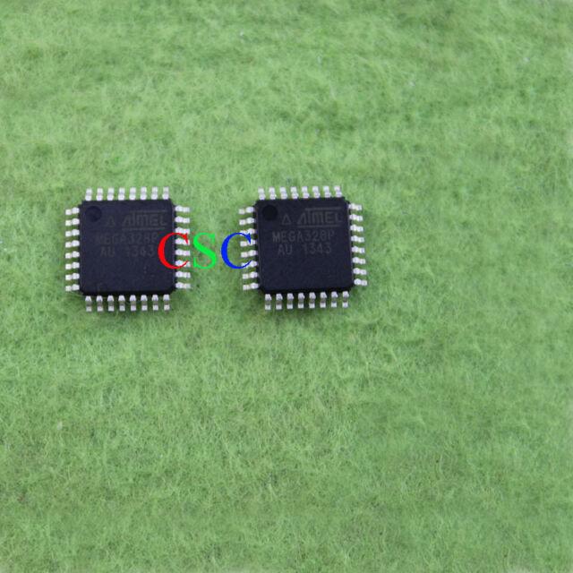 10 pcs New ATMEL AMEGA328P AU ATMEGA328P-AU MEGA328P SMD TQFP32 IC Chip