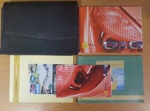 genuine renault scenic owners manual handbook wallet 2003 2006 pack rh ebay co uk Renault Scenic 2006 DTC Conectors 2006 renault scenic owner's handbook