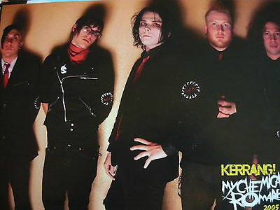 MY CHEMICAL ROMANCE - MAGAZINE CUTTING (FULL PAGE PHOTO) (REF SB2)