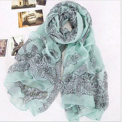 Stylish Womens Fashion Long Big Wraps Scarf Soft New Autumn Winter Scarves