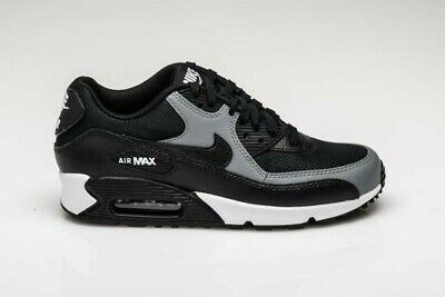 Wmns Nike Air Max 90 UK 5.5 (EUR 39 Black Cool Grey 325213 037 New | eBay