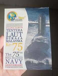 2009 The 75th Royal Malaysian Navy Anniversary 2009 TLDM Commemorative Coin Card