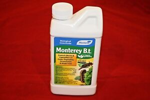 Details about B T  (Bacillus Thuringiensis) Pint Concentrate Outdoor  Organic Insecticide