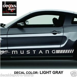 Ford-Mustang-Rocker-Panel-Door-Side-Stripes-Decals-RJ-Strips-Stickers-Lower