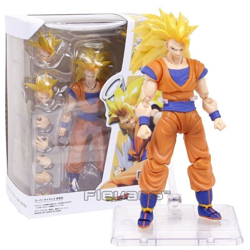 SHF SHFiguarts Dragon Ball Z Super Saiyan 3 3 3 Son Goku PVC Action Figure Model Toy 2c452b