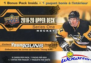 2019-20-Upper-Deck-Series-1-Hockey-HUGE-Factory-Sealed-Blaster-Box-YOUNG-GUN-RC