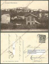 PAVIA MONTÙ BECCARIA 02 Cartolina viaggiata 1911
