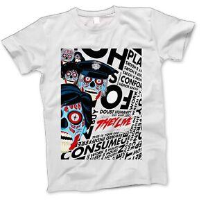87ca78fab3e They Live Horror Movie Film Retro Classic War Action Sci Fi T Shirt ...