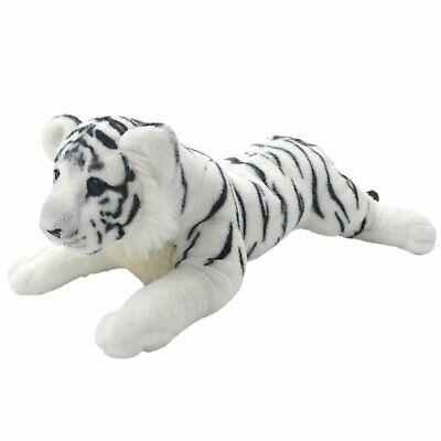 White Tiger Plush Animal Soft Toy Cuddly Fluffy Cute Toy Stuffed Toy 30cm UK