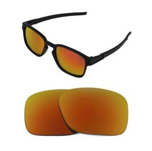 102228af68f Image is loading NEW-POLARIZED-CUSTOM-FIRE-RED-LENS-FOR-OAKLEY-